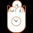 icono gestión del tiempo