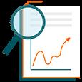 icono analisis interactivo kpis